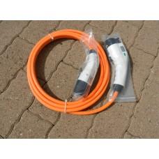 Câble Type 1 vers Type 2 monophasé 32A, longueur 5m